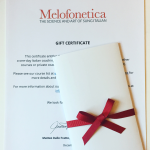 Melofonetica gift certificates now available!