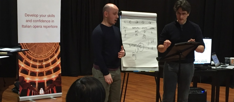 What's it like at a Melofonetica Italian Coaching Masterclass? Melofonetica